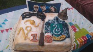 Narozeninový dort - SLYTHERIN!!